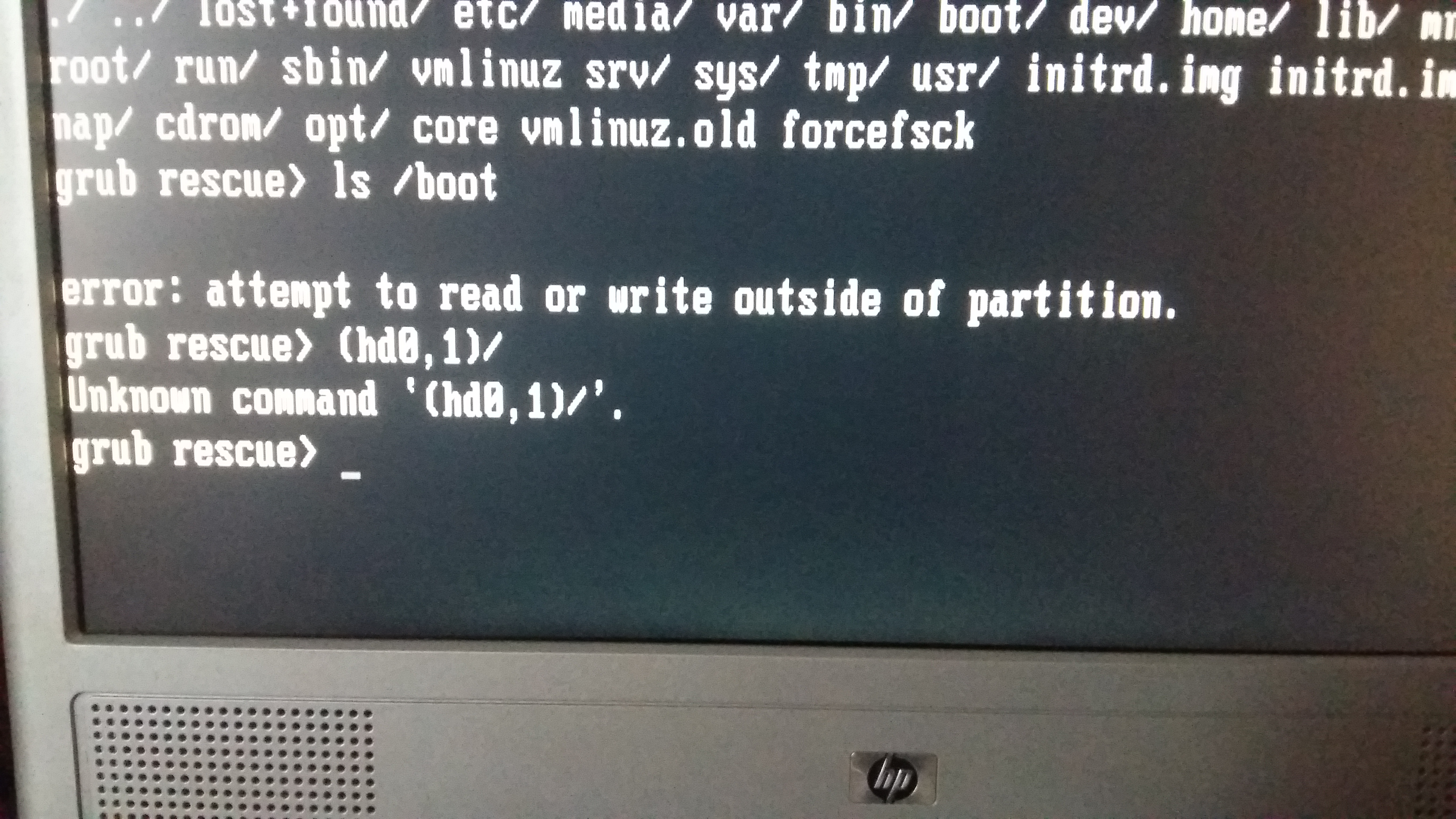 boot iso from grub rescue