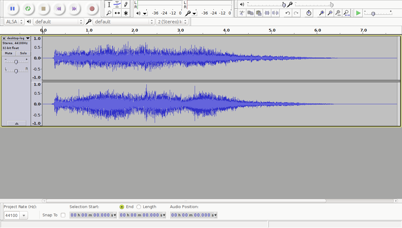 Editing Audio Files   Linux org