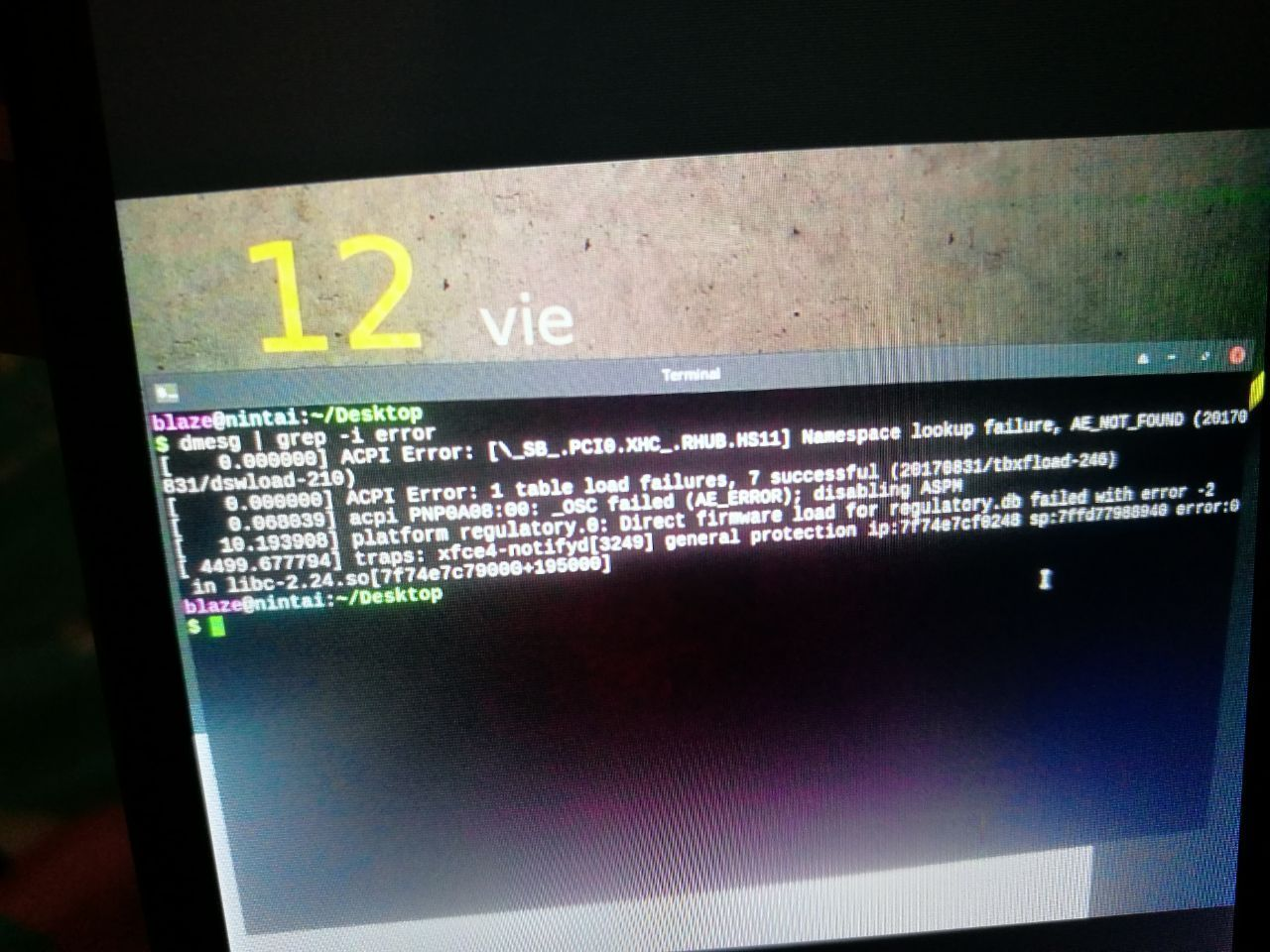 problem with boot on MX linux 17 1 shows acpi error | Linux org